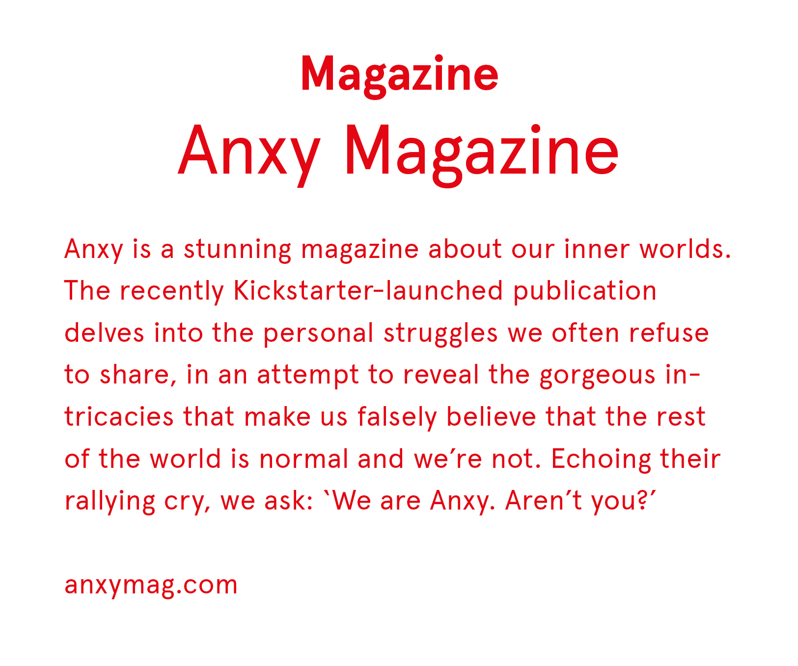 anxy mag
